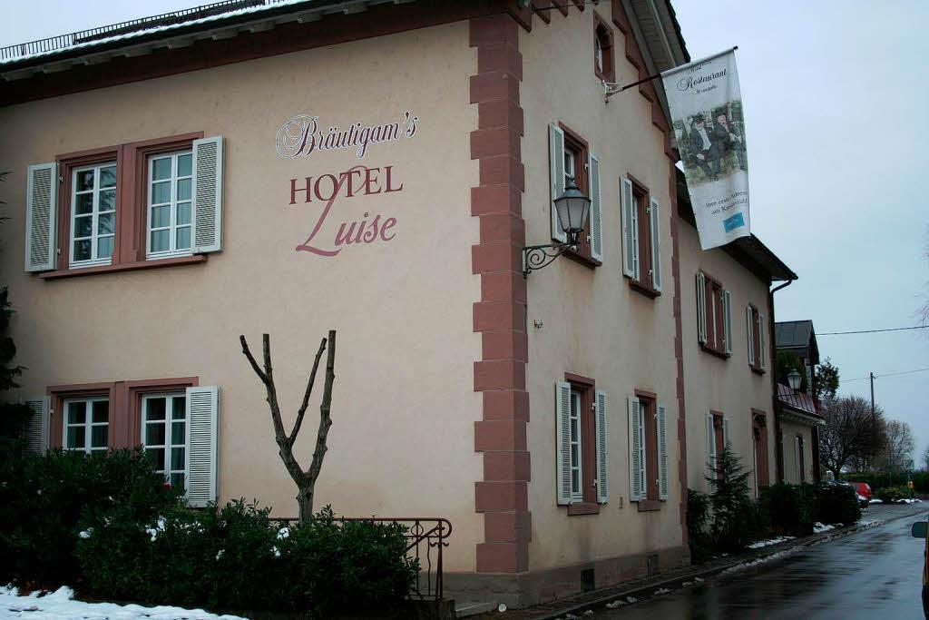 ihringen bekanntes hotel restaurant in schwierigkeiten insolvenzantrag f r br utigams. Black Bedroom Furniture Sets. Home Design Ideas