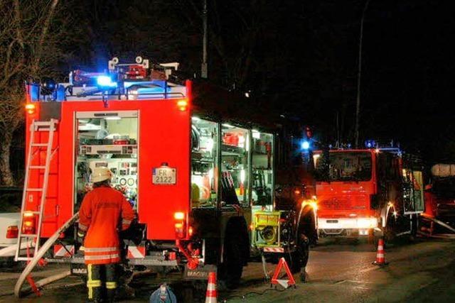 Millionenschaden bei Feuer in der Hexentalschule Merzhausen