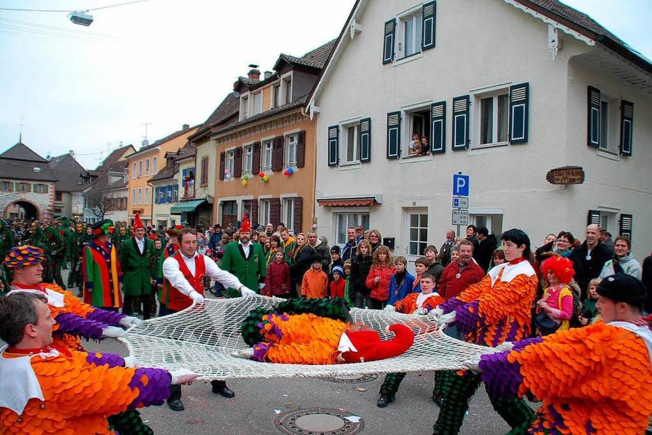 Beim 29. Sulzbachtal-Narrenumzug (Foto: Denise Beil)