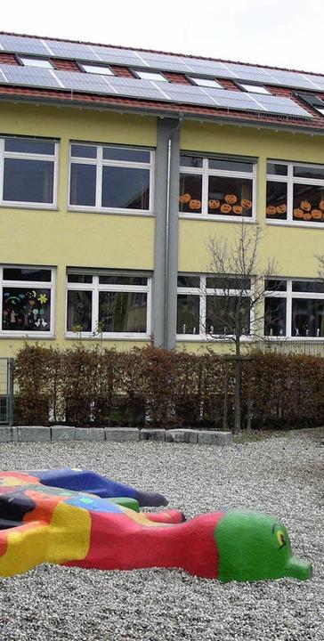 Die Gottenheimer Schule soll nach dem ...enplätze für Kleinkinder beherbergen.     Foto: mario schöneberg