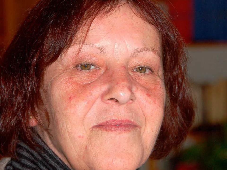Eva Krumm aus Maulburg will bei der Europawahl für die Newropeans kandidieren  | Foto: Hermann Jacob