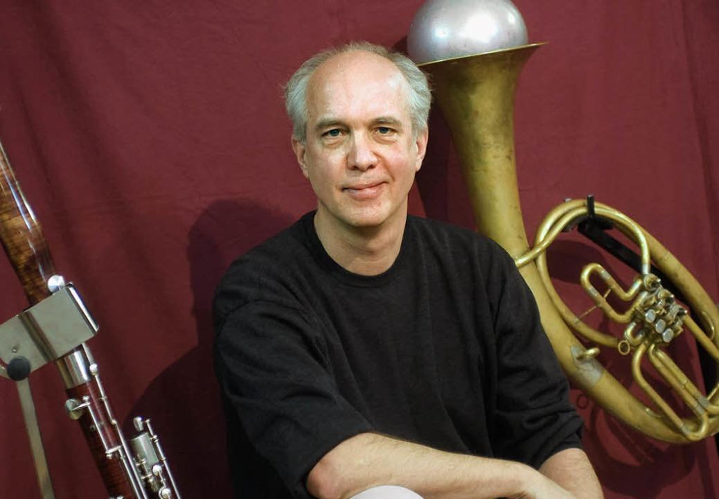 Künstler, Musiker, Idealist: Christian Rabe  | Foto: Duval