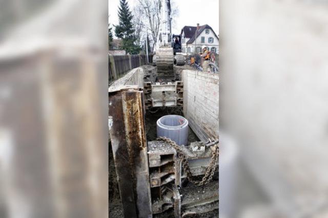 Der Kanalbau: möglichst billig, sicher und angenehm