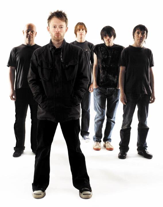 Umsatzbringer: Die Band Radiohead mit Sänger Thom Yorke   | Foto: PR/emi
