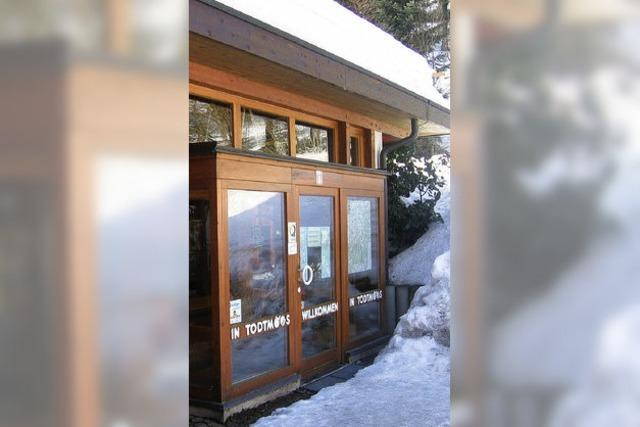 Neue Fenster auch für die Tourist-Info