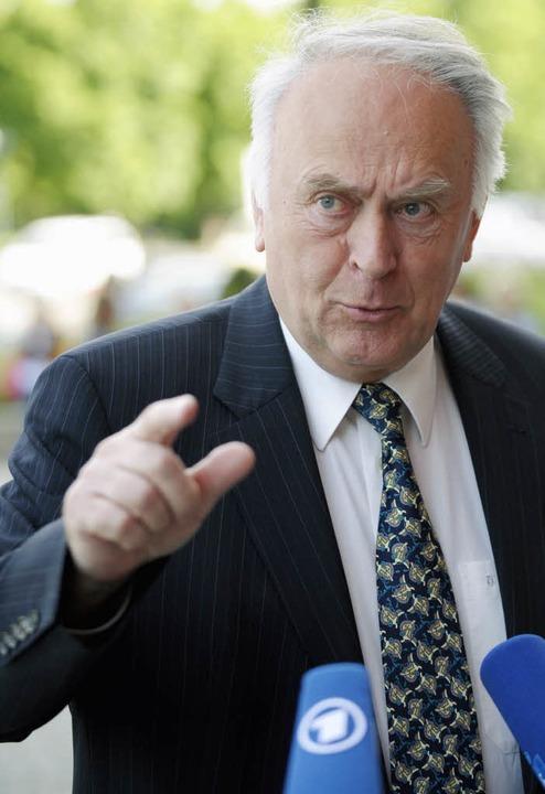 Wolfgang Böhmer  plädiert dafür, das V...en etwas gleichmäßiger  zu verteilen.   | Foto: DDP