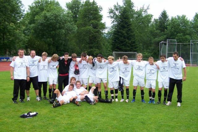 C-Junioren schreiben Vereinsgeschichte