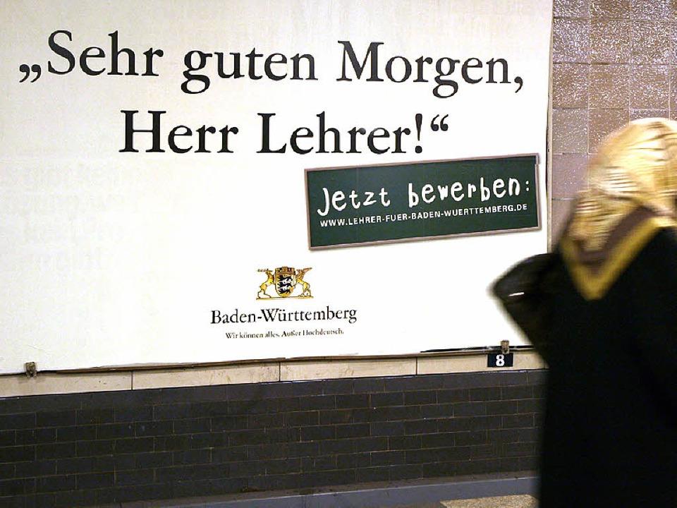 Wenn Länder Lehrer Locken Deutschland Badische Zeitung