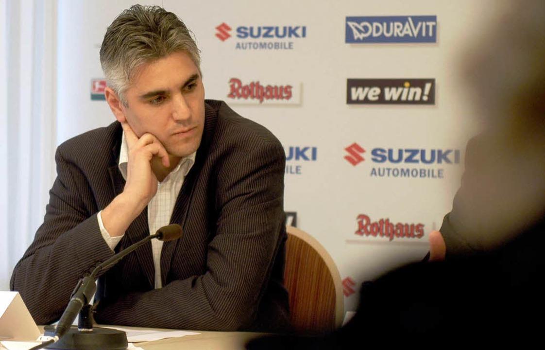 2007 trennten sich der Sportclub und Bornemann wegen...    Foto: Ingo Schneider