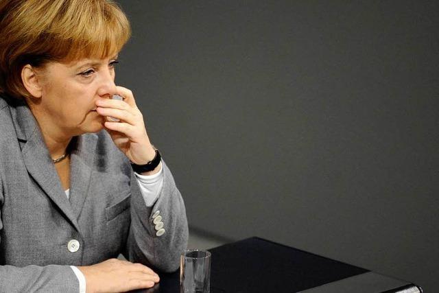 In der Union rumort es wegen Merkel