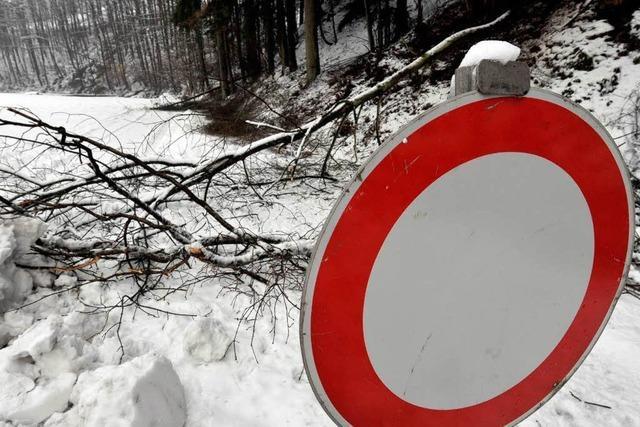 Winterrückkehr führt zu Verkehrsproblemen