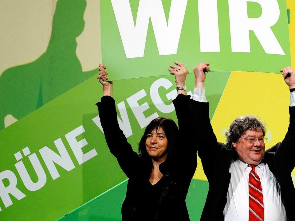 Mit Wums nach Europa? Die Grünen-Spitz... frühere Parteichef Reinhard Bütikofer  | Foto: ddp