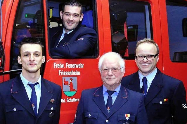 Marco Lippmann leitet die Feuerwehr Schuttern