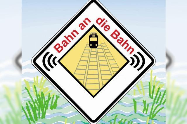 Bahninitiative hat ein Logo