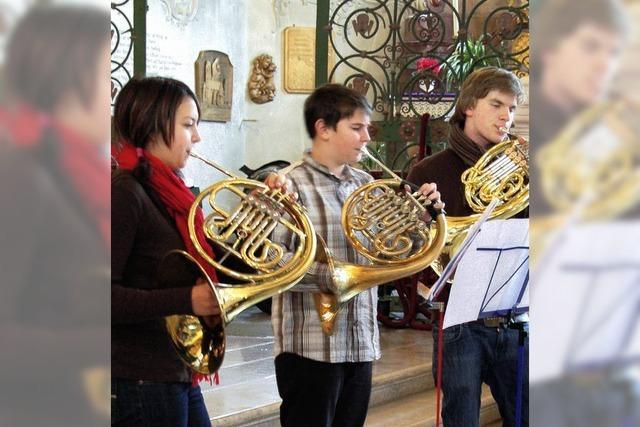 50 Hornspieler zu Gast in Todtmoos