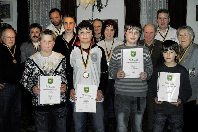 Wittenschwander Schützen proklamieren ihre Vereinssieger