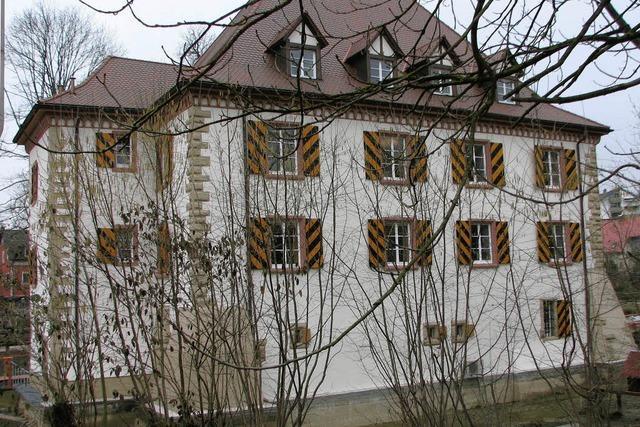 Fassade in frischem Glanz