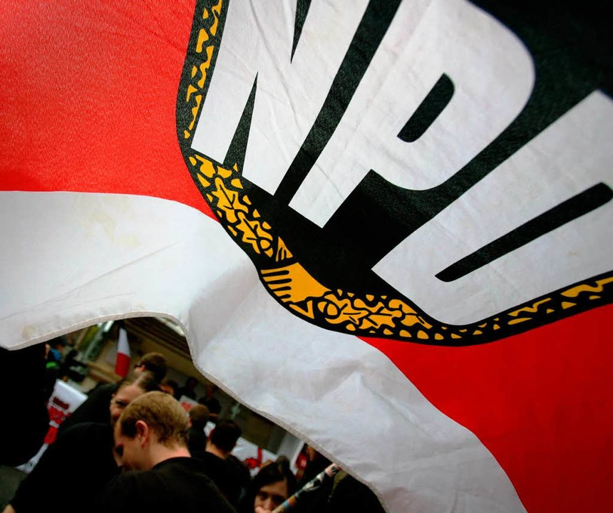 Der NPD droht der finanzielle Ruin    Foto: dpa