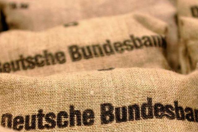 Bundesbank macht 6,3 Milliarden Euro Überschuss
