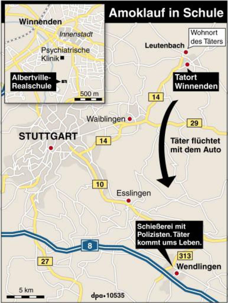 Amokläufer Deutschland