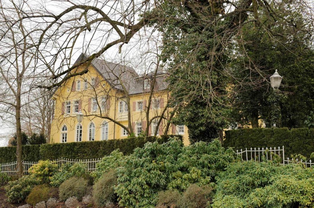 Schloss Aubach in Lauf hat einen neuen Besitzer.  | Foto: LAILA WEBER