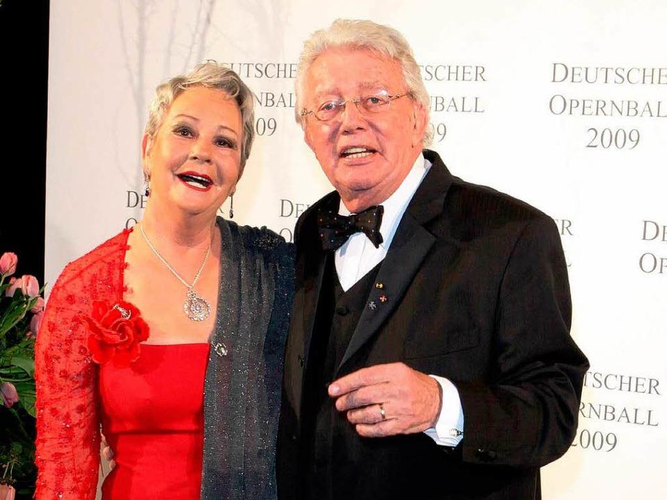 Dieter Thomas Heck und seine Frau Rahnhild verlassen die Ortenau.  | Foto: dpa