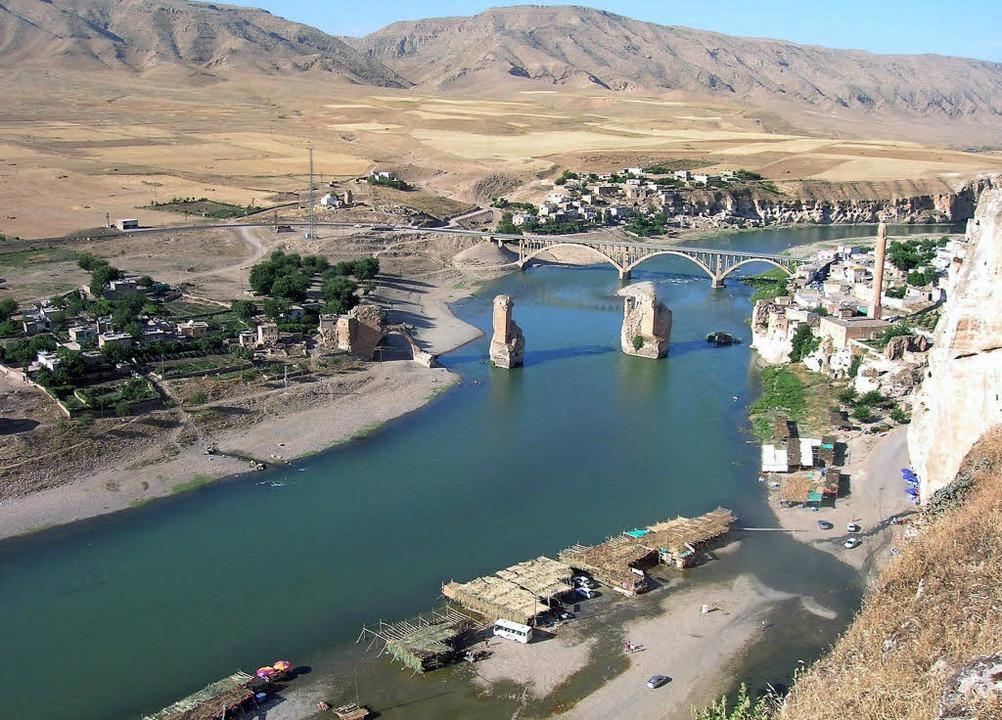 Dem Untergang geweiht:  Wird die alte ...s Opfer der türkischen Wasserpolitik?     Foto: dpa