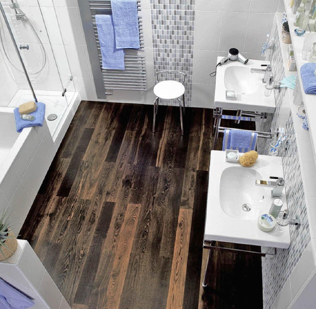 Holz hat keine angst vor wassertropfen haus garten badische zeitung - Holz im badezimmer ...