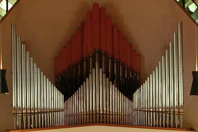 Neue Orgel für Kollnau