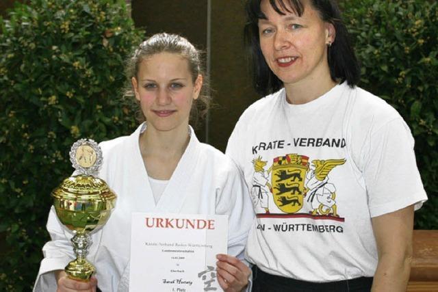 Zweiter großer Landestitel für die Karatekas