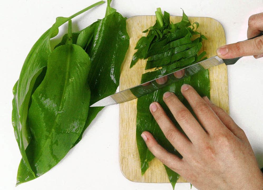 Putzt den Körper durch: Bärlauch in Blätterform  | Foto: ddp