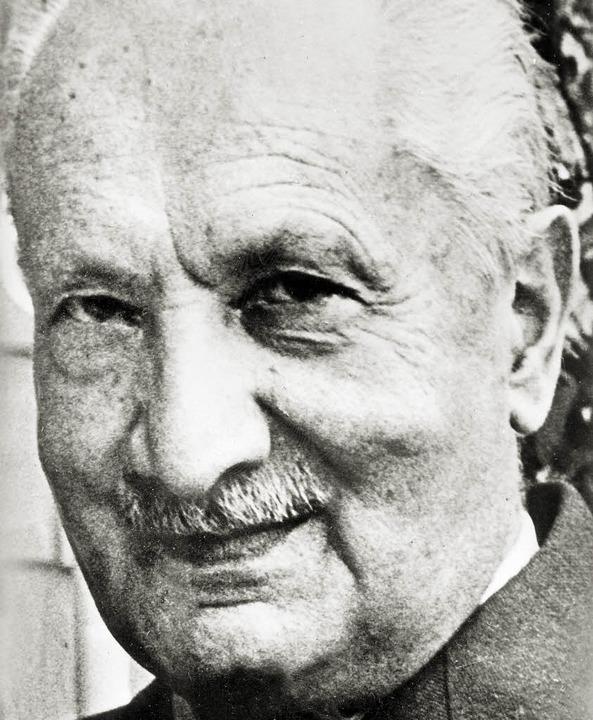 In Frankreich wieder heftig umstritten: Martin Heidegger   | Foto: afp