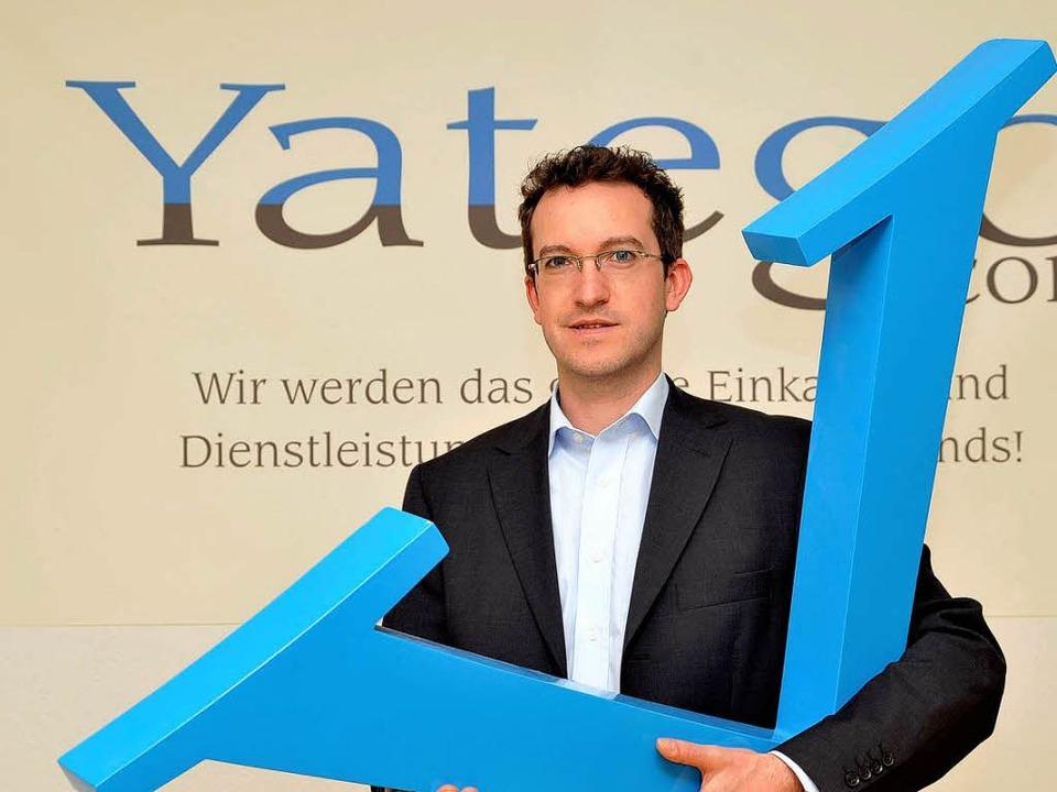 Stephan Peltzer ist Geschäftsführer der Yatego GmbH in St. Georgen.  | Foto: Thomas Kunz
