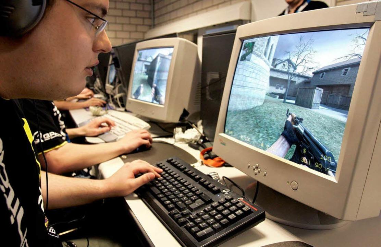 Spieler Laptop