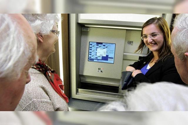 Den Geldautomat verstehen