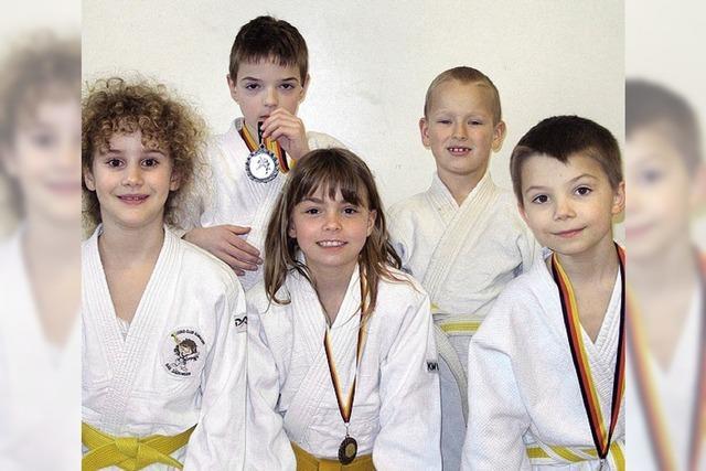 Ein Titel und Medaillen für Judo-Nachwuchs