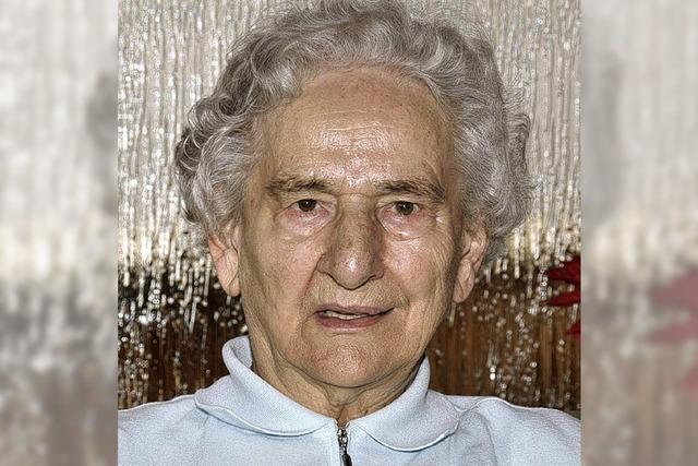 Sängerin seit 72 Jahren