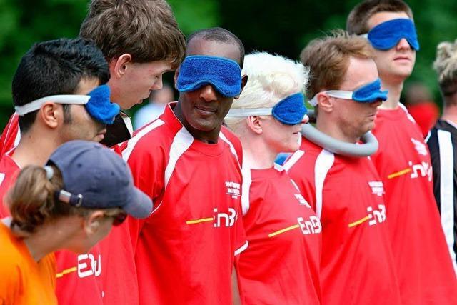 Blindes Ballgefühl – wenn Fußballer nach Gehör spielen
