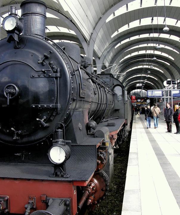 Der Zug der Erinnerung kommt heute in Offenburg an.   | Foto: BZ