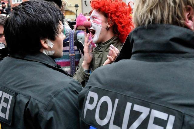 Einsatzleiter Hochuli mit Demo in Freiburg zufrieden
