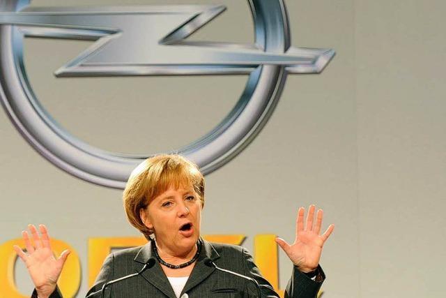 Merkel sichert Opel Unterstützung zu