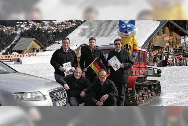Dank der Eisbahn winkt der Zuschlag für die Winterspiele 2018