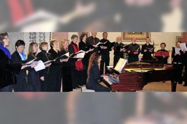 Wenn Sängerinnen und Sänger den gesamten Kirchenraum ausloten