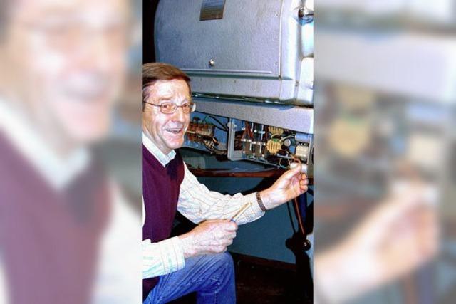 Rentner rettet die Kinotage im Gloria-Theater