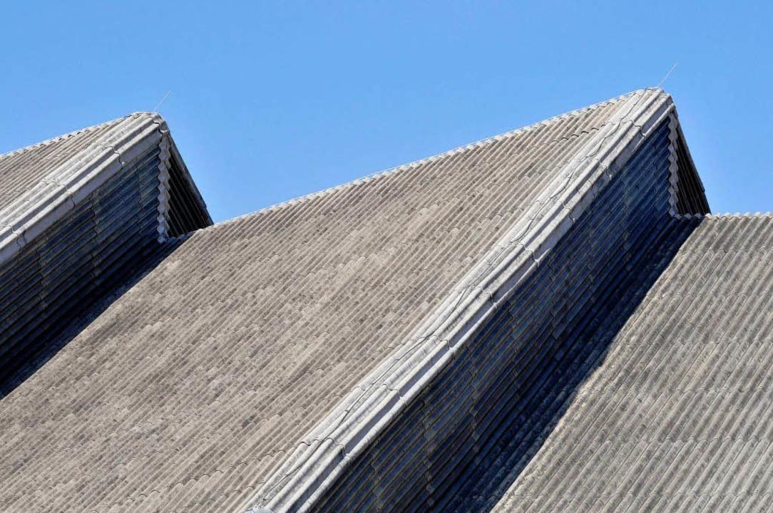 Problemfall Dach: Als im Februar Schne...n. Die Halle stand vor der Schließung.  | Foto: Ingo Schneider