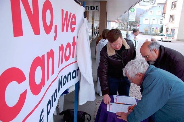 Ärzte sammeln Unterschriften