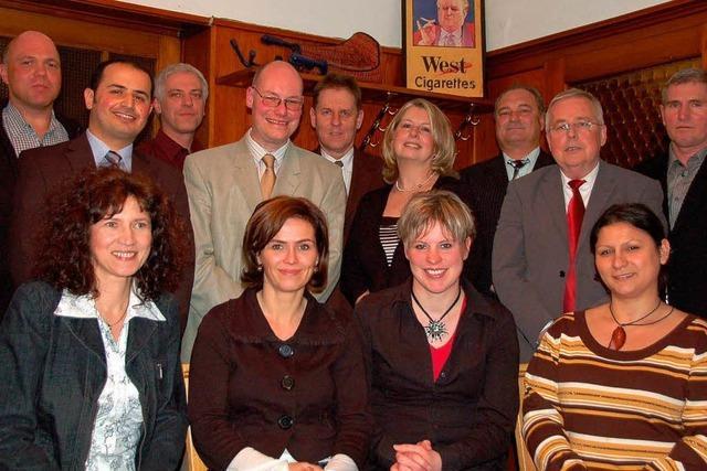 SPD präsentiert 13 Kandidaten