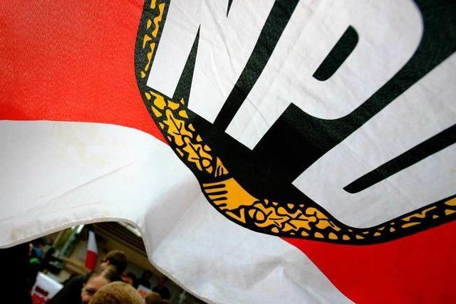Millionen-Strafe: NPD fast pleite