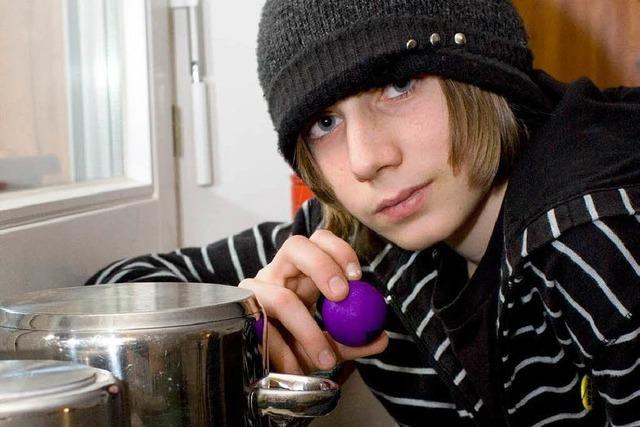 14-jähriger Freiburger schafft es mit Tischtennnisball-Tricks ins Fernsehen