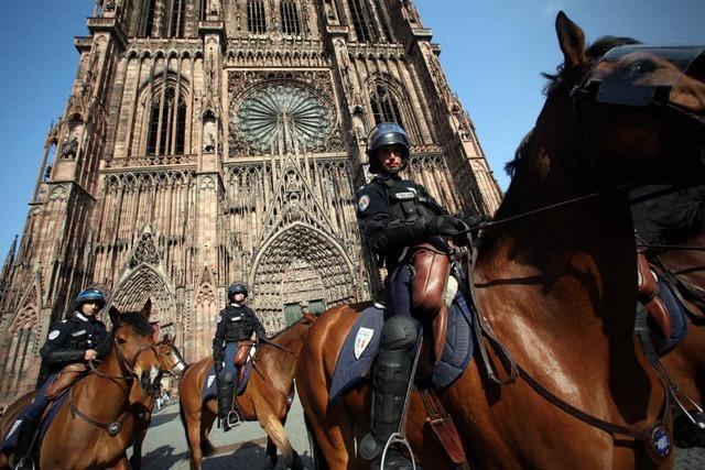 300 Festnahmen in Straßburg